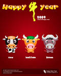 Happy 2009 by kingyoART