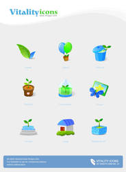 Vitality Icons by kingyoART