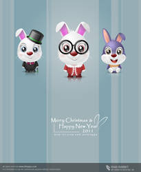 Rabi Rabbit by kingyoART
