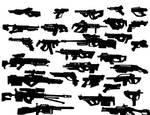 Design Process: Guns by danielcherng