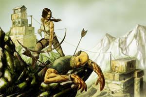 Tomb Raider entry by freddylupus