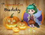 .:Adopts:. Pumpkin Buddy Ryfel [Open] + SpeedPaint by MariiCreations93