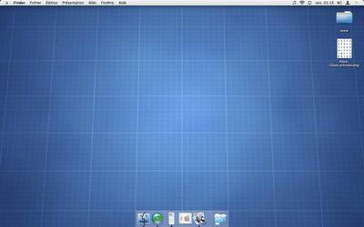 Aqua Glaze Desktop by sa-ki