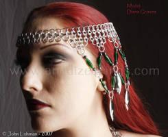 Headdress - three quarter view by LadyLockeout