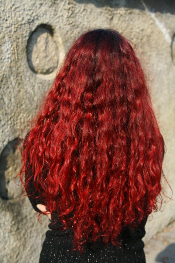 Red hair by ShadeNinja