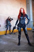 G.I. Joe - Scarlett cosplay 3 by ShadeNinja