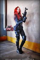 G.I. Joe - Scarlett cosplay 14 by ShadeNinja