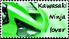 Stamp Kawasaki Ninja lover by ShadeNinja