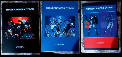 Transformers Cyron's books by ShadeNinja