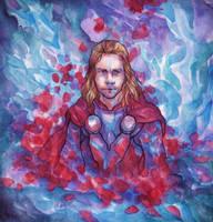 God of Thunder by DaryaSpace