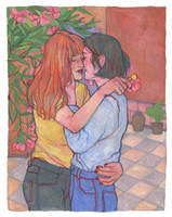kisses - 1 by DaryaSpace