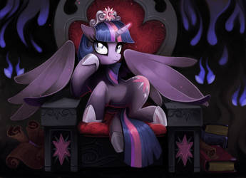 Evil Queen Twiligh by Isseus