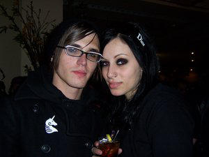Mikey Way by paintitblack by PicturesOfMusic