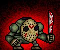 Halloween #2- Jason voorhees by monsterdestroyer24