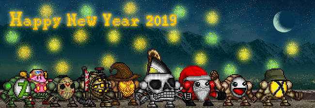 Happy New Year 2019 by monsterdestroyer24