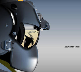 helmet visor by jshinse