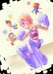 ROBOT PANTS by NuclearMango