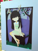 Elisa papercut by Watertae