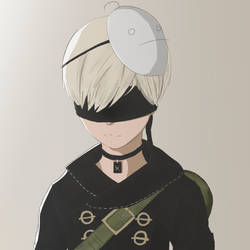 Nier:Automata 9S, ft. Cryaotic by tenyuukun