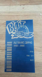 My bttf 2 Grays Sports Almanac Blue Receipt by RussellMGoodwin