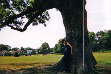 Rachel and the Tree by leoiseauxvert