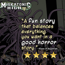 Four stars! by MiskatonicHigh