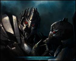 Transformers movie_megatronXstarscream by H-E-E-R-O-Y-U-Y