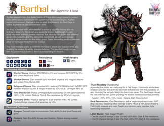 FFBE Barthal Page by zhenderson