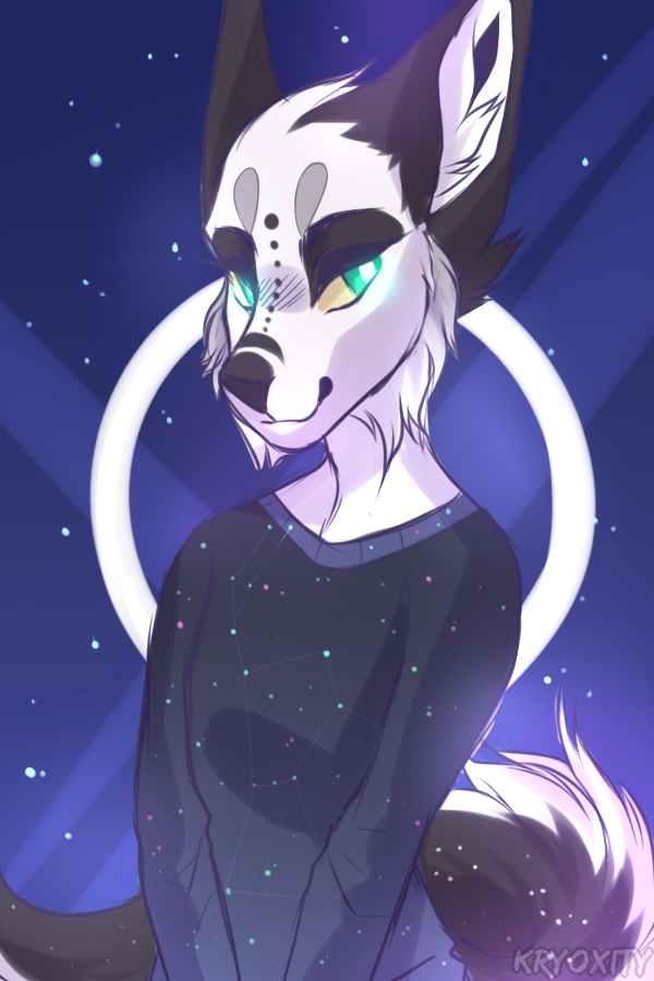 Starry sky by Kryoxity