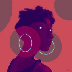 Earrings by H-O-N