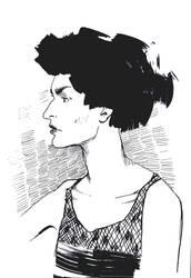 Woman1 by H-O-N