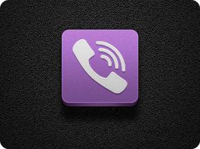 Viber - Jaku Theme on iOS iPhone by iGeriya
