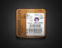 Amazon alt icon - Jaku iOS theme for iPhone/iPod by iGeriya