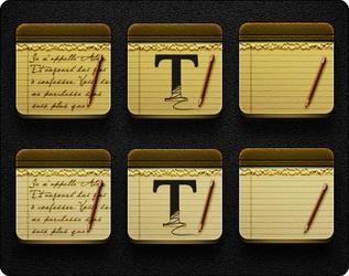 Notes - Jaku Theme on iOS devices by iGeriya