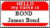 My name is Bond by JediSenshi