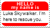 My name is Luke by JediSenshi