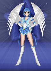Angel Senshi Mercury by JediSenshi