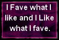 Fave what I like by JediSenshi