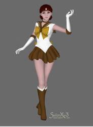 SailorSun --- Testing a new Senshimaker by JediSenshi