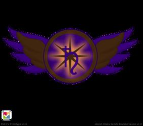 Super Eternal Saturn Brooch by JediSenshi