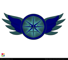 Super Eternal Neptune Brooch by JediSenshi