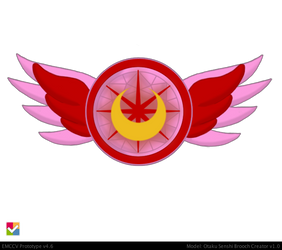 Super Eternal ChibiMoon Brooch by JediSenshi