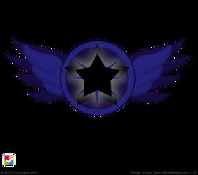 Super Eternal Mistress 9 Brooch by JediSenshi