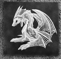 Ink Dragon by Jeb-CC