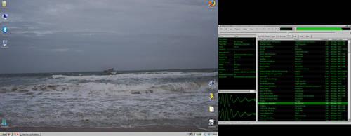 My Desktop, Pissta's back... by technoturtle