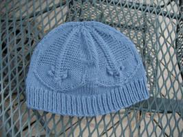 Blue Trilobite Hat by GarnetKimzey