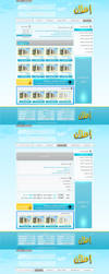 E5NT.com Layout  Design by Engamin89