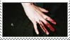 Bloody Hand Stamp by G0REH0UND