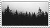 Dark Trees Stamp by G0REH0UND