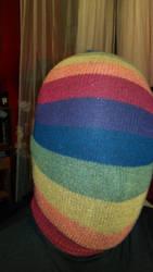 Rainbow sock by Sock-Encased